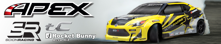APEX Scion Racing tC 2015 Brushless Ready-To-Run