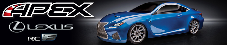 APEX Lexus RC F Brushless Ready-To-Run