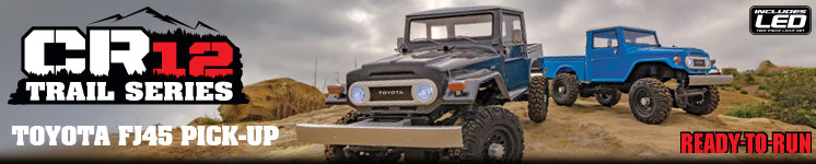 CR12 Toyota FJ45 Pick-Up RTR