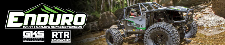 Enduro Gatekeeper Rock Crawler Buggy RTR