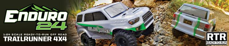 Enduro24 Crawler RTR Trailrunner Trail Truck