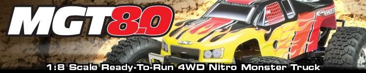 MGT 8.0 Nitro Ready-to-Run