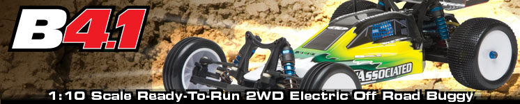 RC10B4.1 Ready-To-Run Brushless