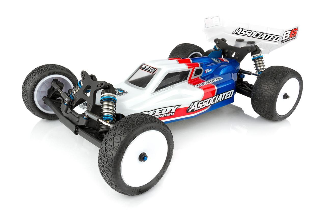 Associated Associated RC10B6 Club Racer Aluminum Chassis Weight 13g B6 ASC91746