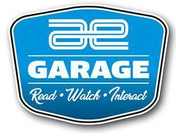 AE Garage logo