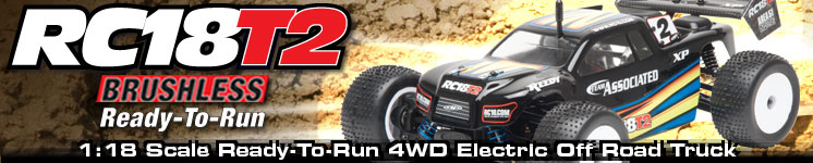 RC18T2 Brushless Ready-To-Run