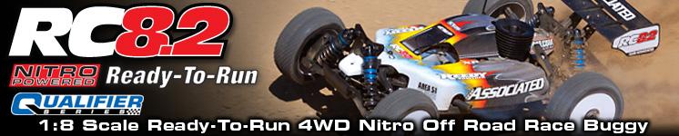 RC8.2 Nitro Ready-To-Run
