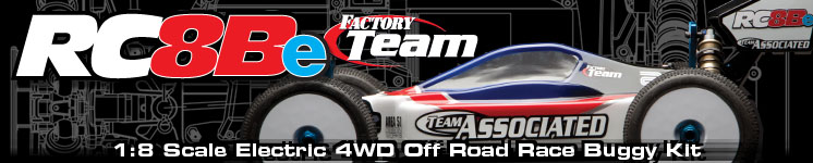 RC8Be Factory Team