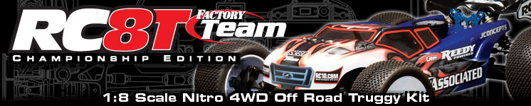 RC8T Nitro Factory Team Championship Edition Kit