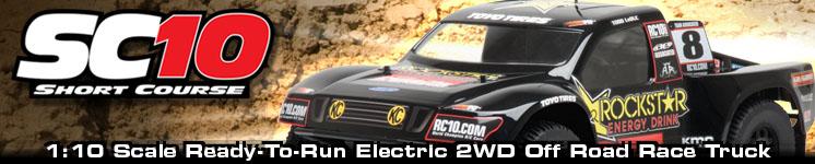SC10 Ready-To-Run (Brushed motor version)