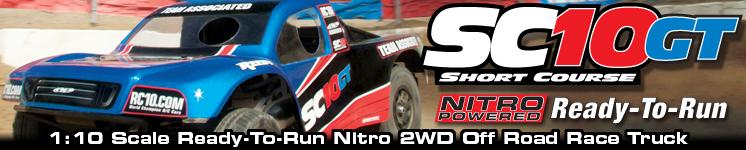 SC10GT Nitro Ready-To-Run