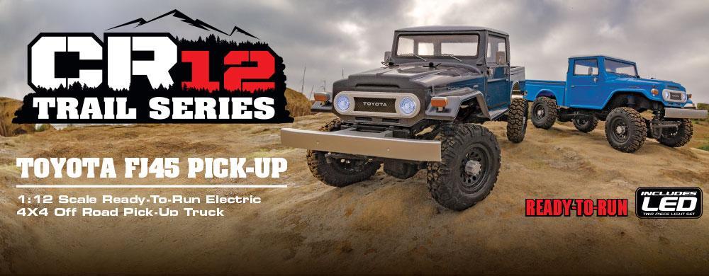 New! CR12 Toyota FJ45 Pick-up RTR | Associated Electrics