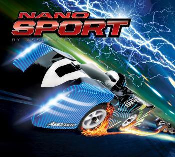 Picture shown: NanoSport RC car set