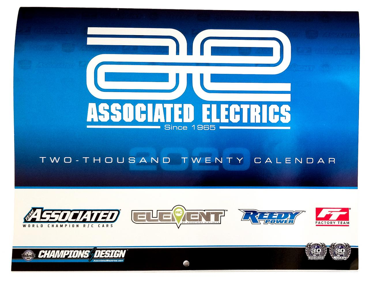 photo of Associated Electrics 2020 Calendar cover