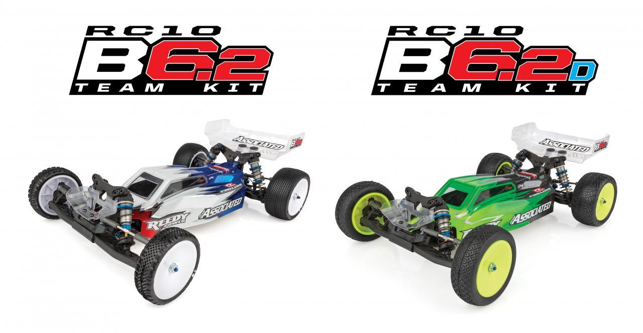 Picture shown: RC10B6.2 & B6.2D Team Kits