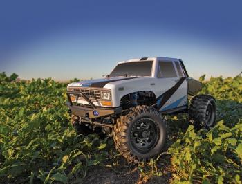 photo of #40006 CR12 Tioga Trail Truck RTR, white and blue