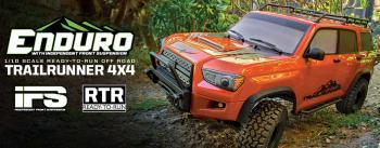 photo of Enduro Trail Truck, Trailrunner RTR, fire