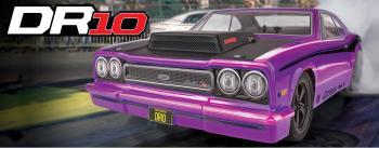 photo of #71085 DR10 Drag Race RTR, purple.