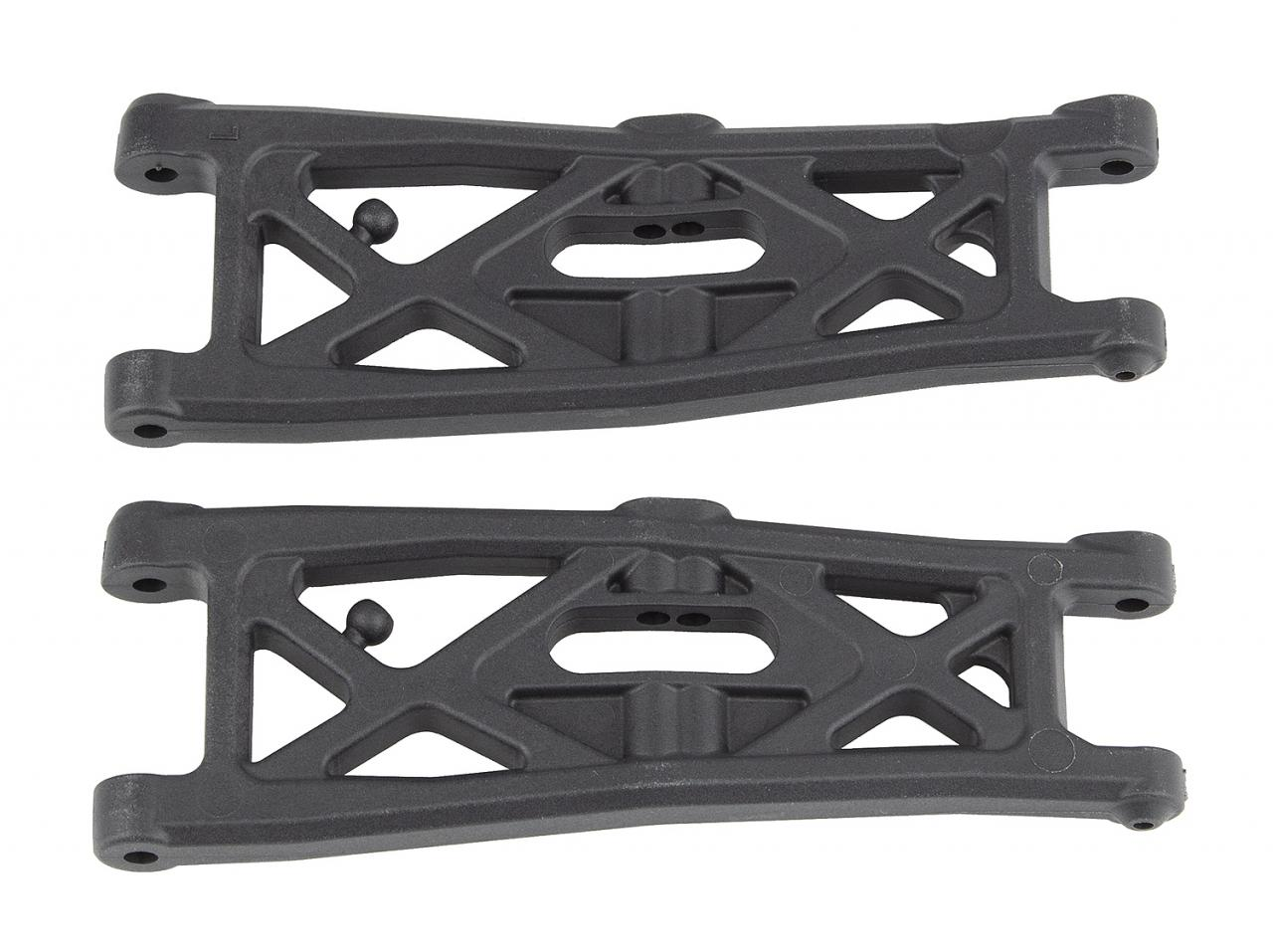 photo of #71139 RC10T6.2 FT Front Suspension Arms, gull wing, carbon fiber
