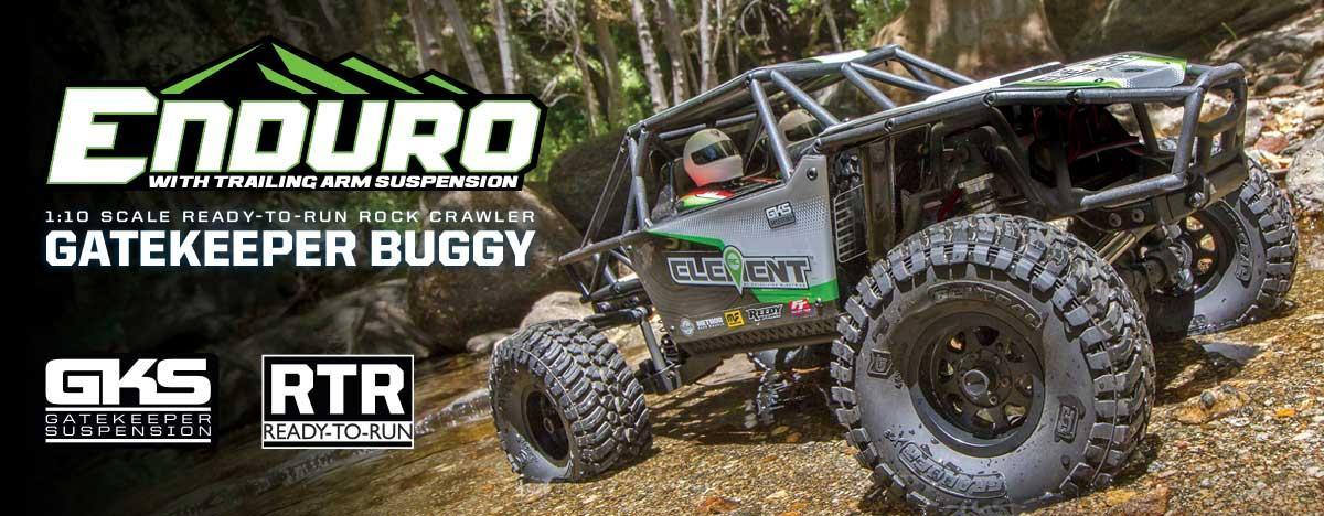 photo of Enduro Gatekeeper Rock Crawler Buggy RTR