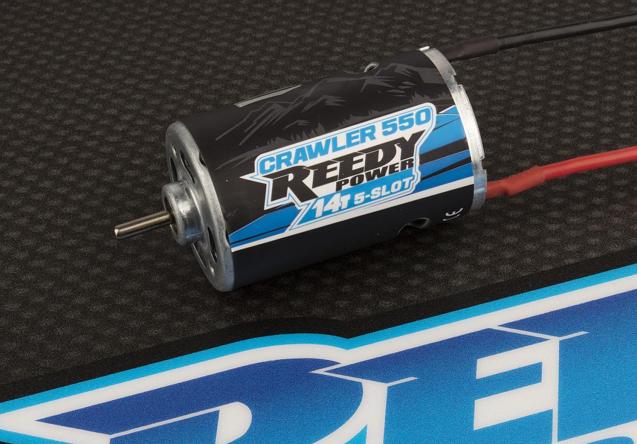 photo of Reedy Crawler 550 14T 5-Slot Brushed Motor