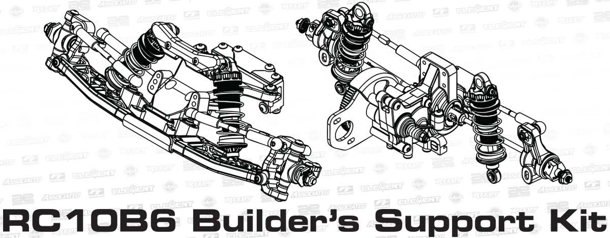 photo of RC10B6 Builder's Support Kit