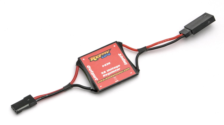 Lipo Voltage Regulator 6.0v